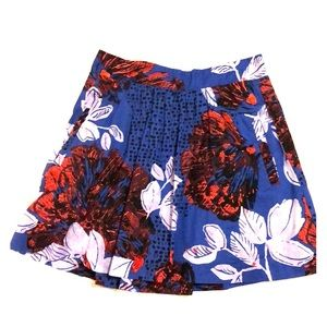 Boho Indigo Edme and Esyllte Tropical Floral Skirt
